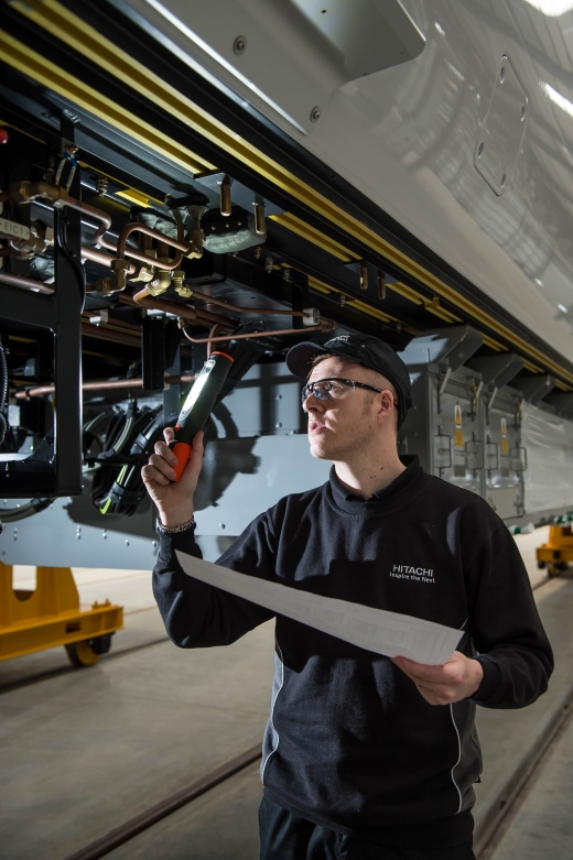 Fusion feature on Hitachi facility at Newton Aycliffe, County Durham