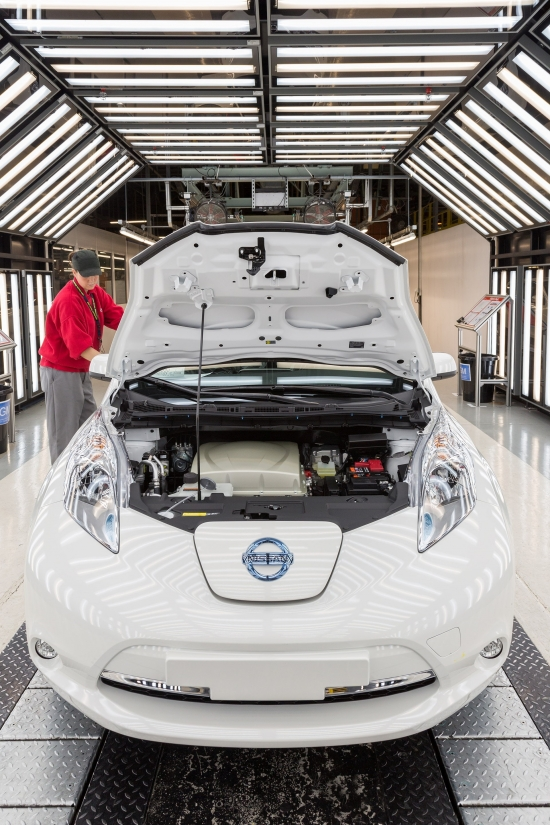 Nissan LEAF Built in Sunderland