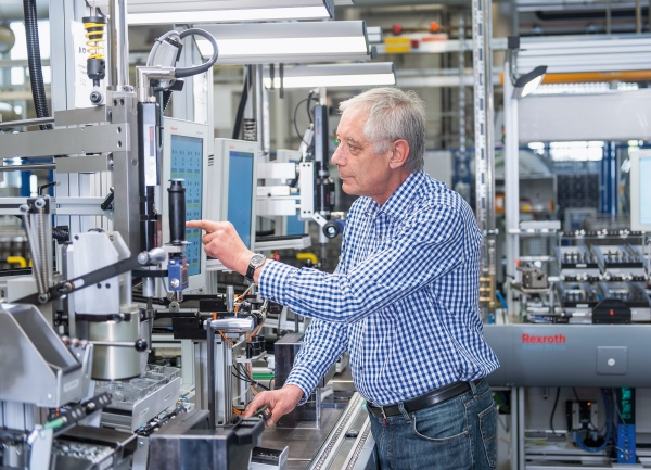 Multi-product line in the Bosch Homburg plant